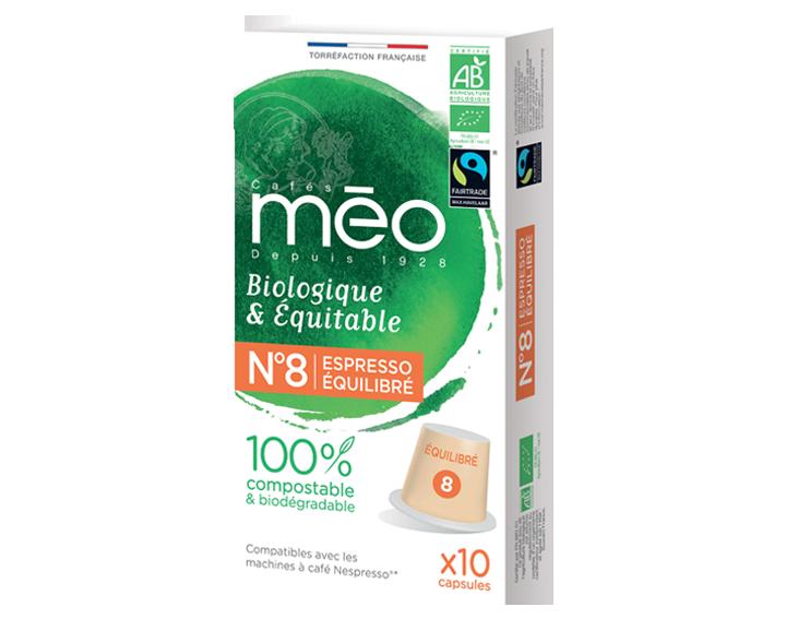 Capsule compostable Bio & Équitable Équilibré