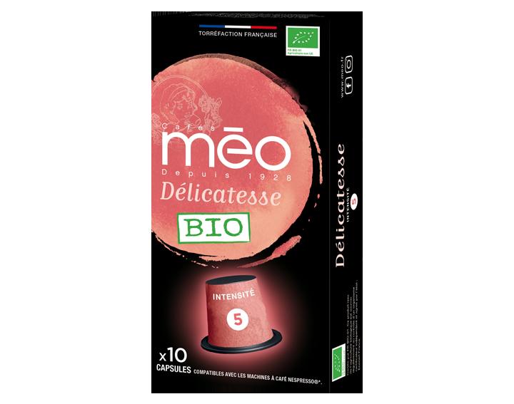 Capsule Délicatesse Bio x10 capsules