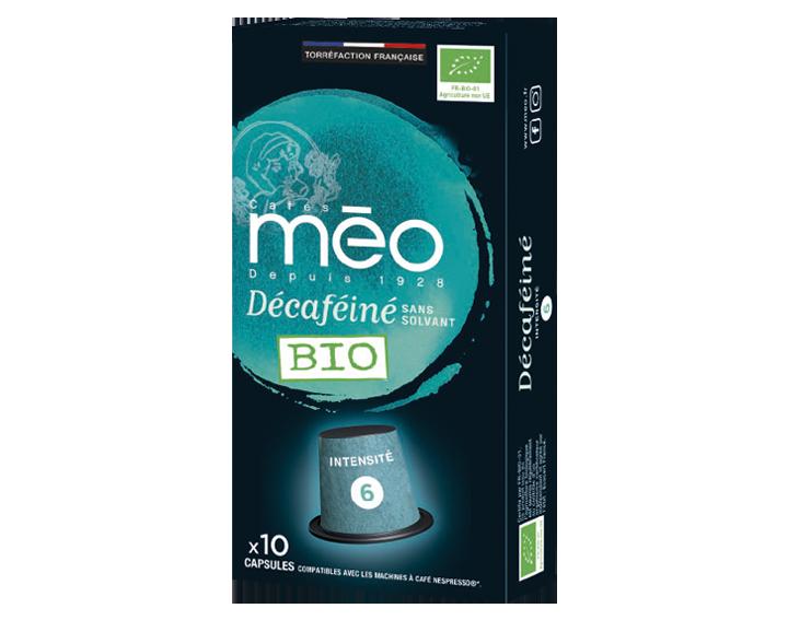 Capsule Décaféiné Bio x10 capsules