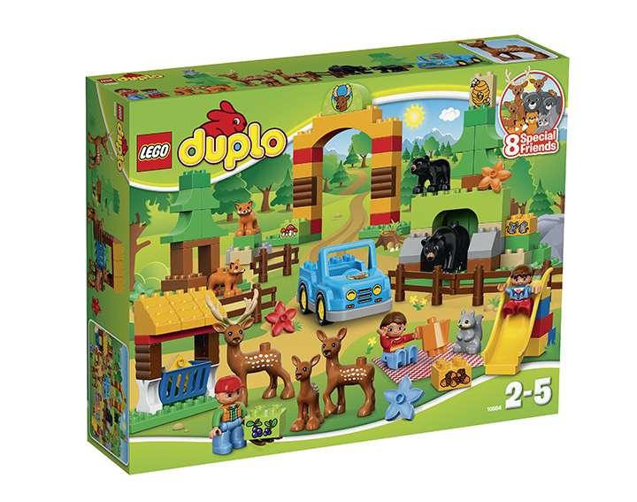 LEGO® DUPLO® Town Le Parc de la forêt