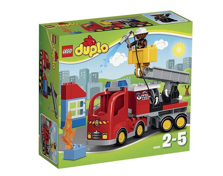 LEGO® DUPLO® Town Le camion de pompiers