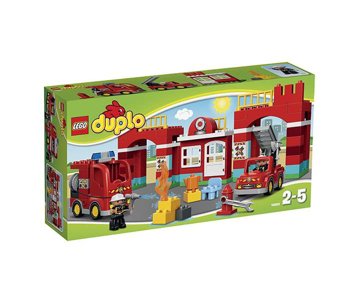 LEGO® DUPLO® Town La caserne des pompiers