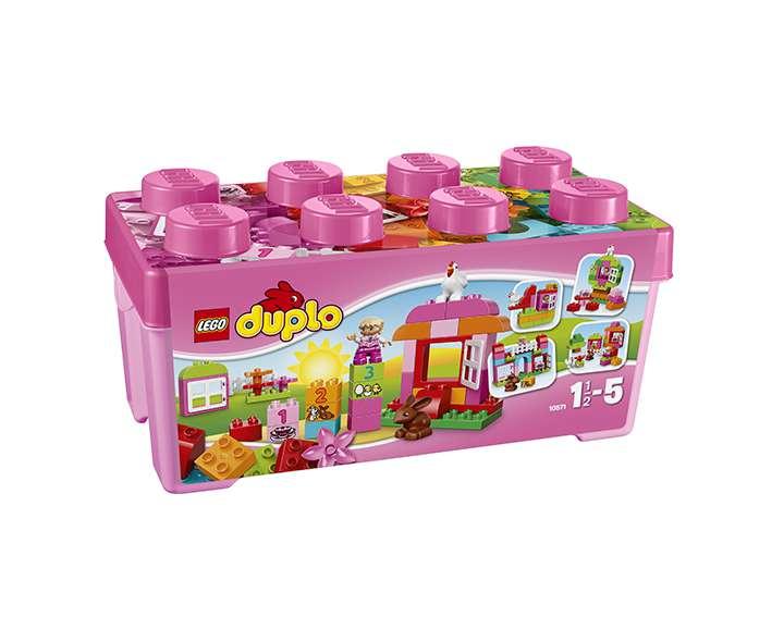 LEGO® DUPLO® Creative Play Grande boîte mon jardin merveilleux