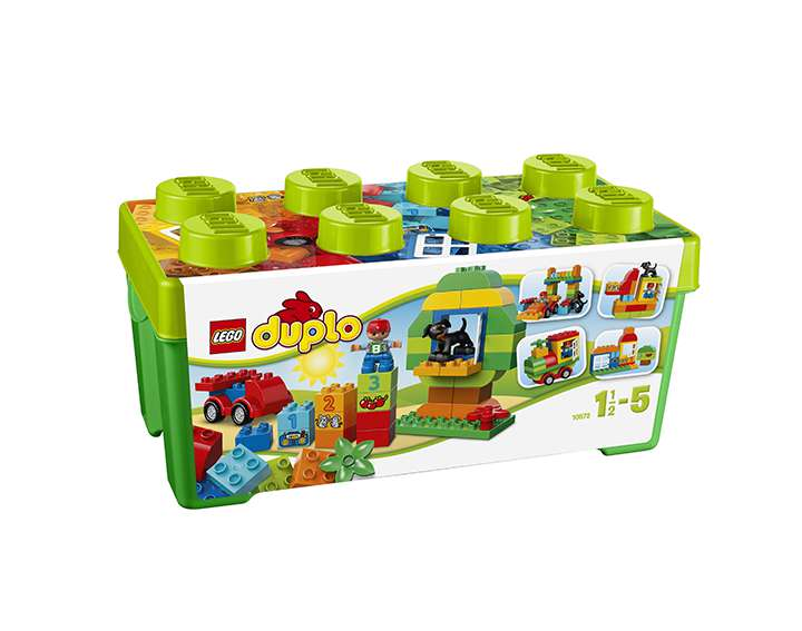 LEGO® DUPLO® Creative Play Grande boîte du jardin en fleurs