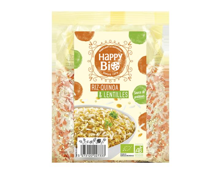 Riz, quinoa, lentilles - 500g