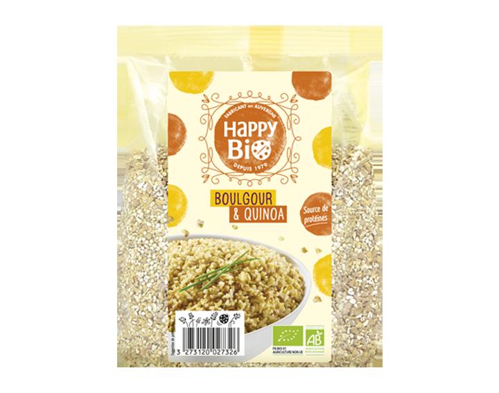 Quinoa et Boulgour - 500g