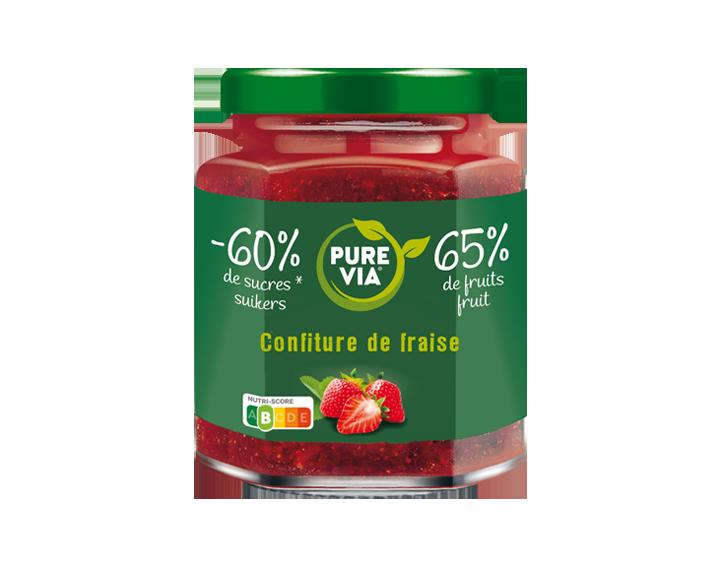 Confiture Pure Via Fraise 300g