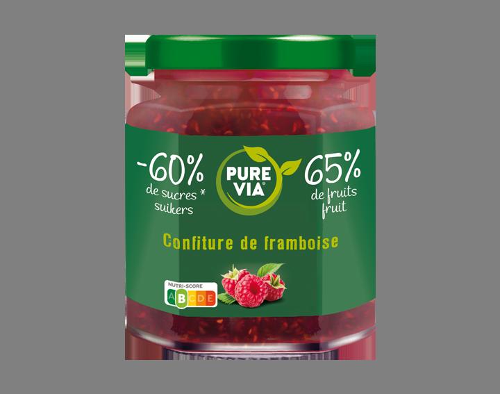 Confiture Pure Via Framboise 300g
