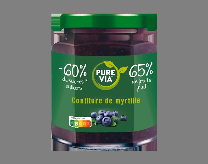 Confiture Pure Via Myrtille 300g