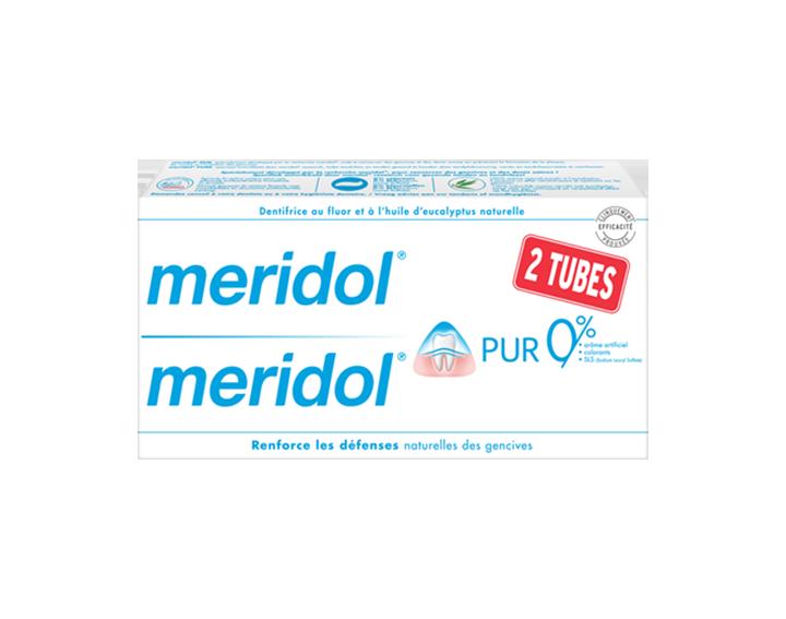 Dentifrice meridol® PUR DUO