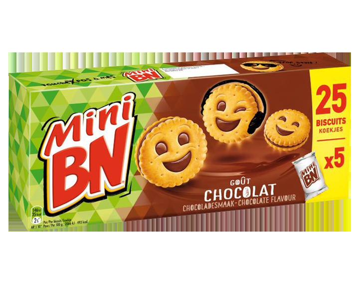 Mini BN Chocolade 5x35g