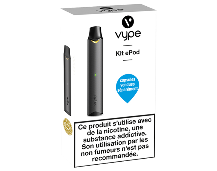Vype ePod Kit Simple Black