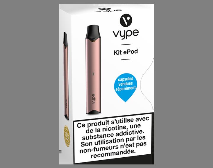 Vype ePod Kit Simple Gold Rose