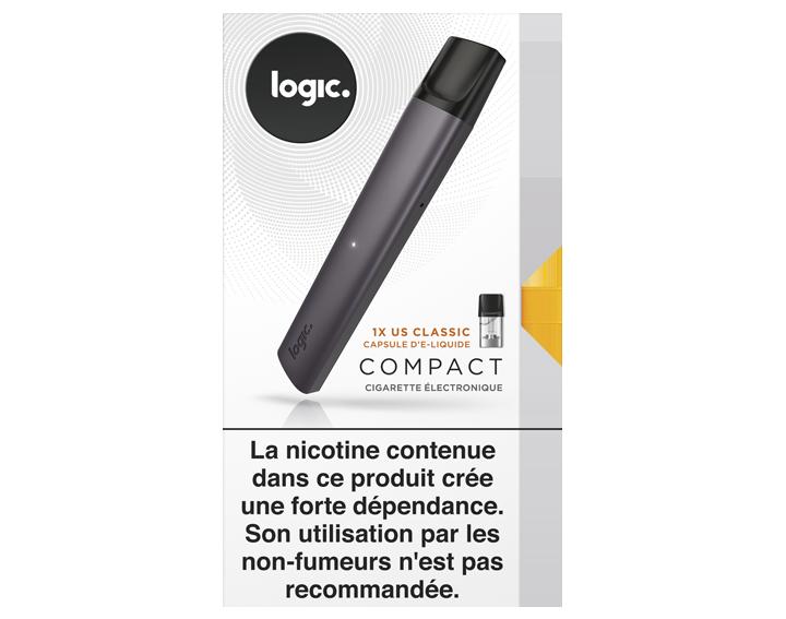 Kit Noir (1 ecig + 1 pod US Classic 12 mg)
