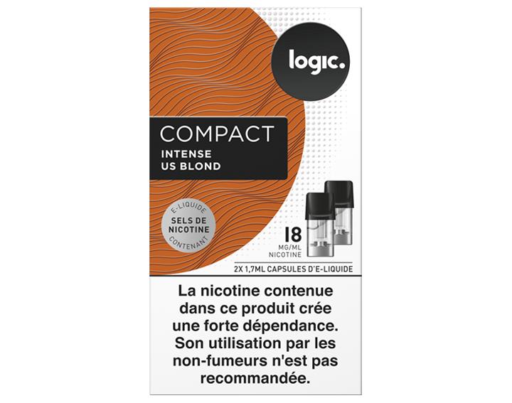 Logic COMPACT Intense US Blond 18mg/ml