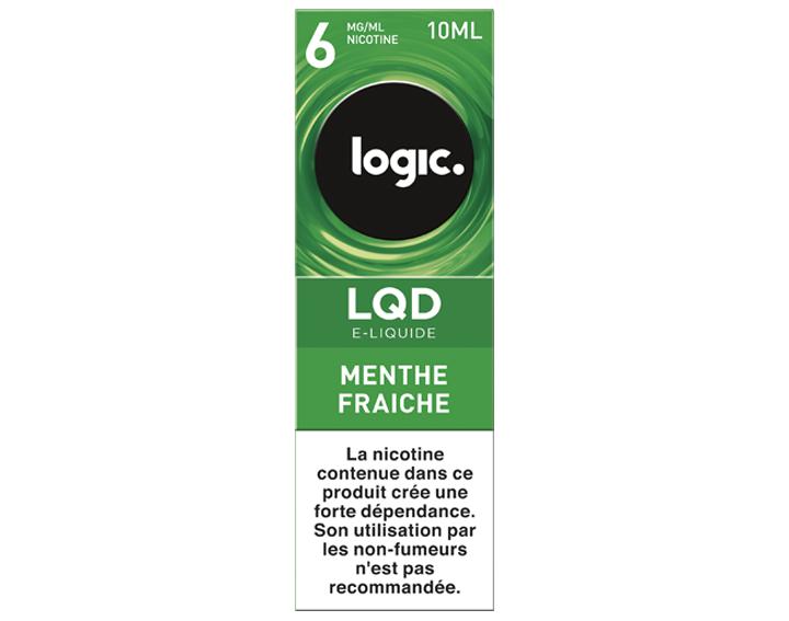 Bouteille e-liquide LQD Menthe Fraiche 6mg/ml