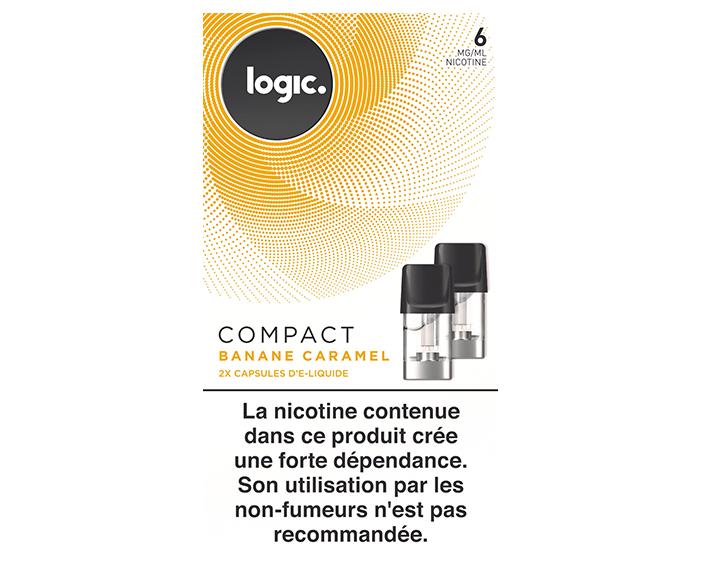 Logic COMPACT Banane Caramel 6mg/ml