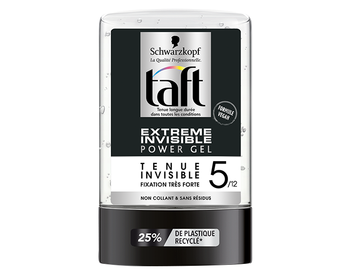 TAFT Power Gel Tube Extrême Invisible - 300ml