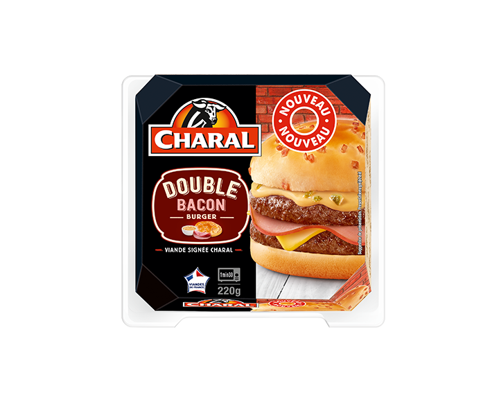Double Bacon Burger Charal