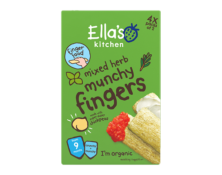 Mixed herb munchy fingers 48g Multipack