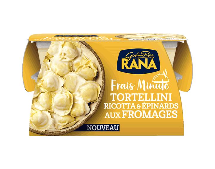 Tortellini Ricotta & épinards aux Fromages