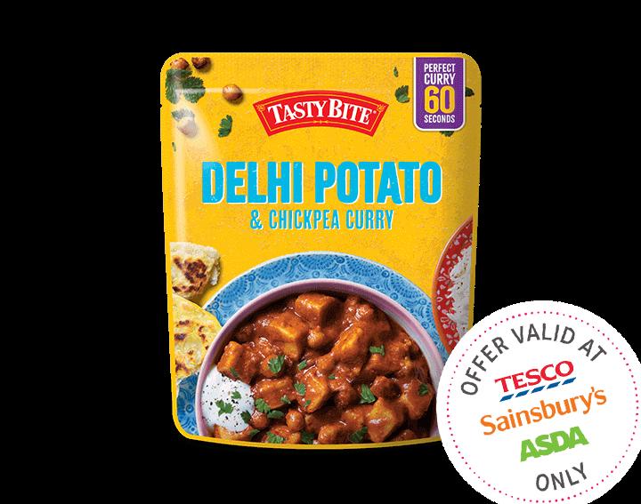 Delhi Potato & Chickpea Curry 285g