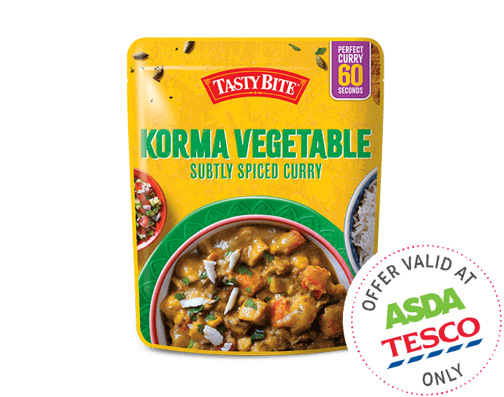 Korma Vegetable Subtly Spiced Curry 285g