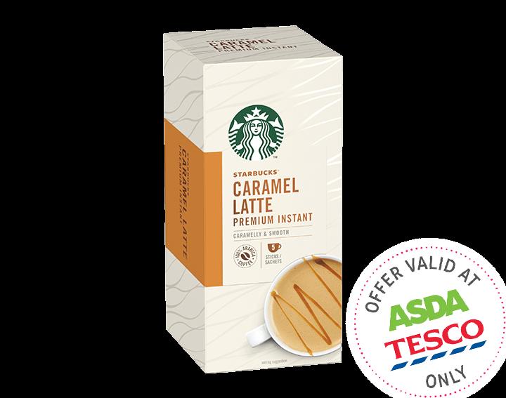 Premium Instant Caramel Latte 70g