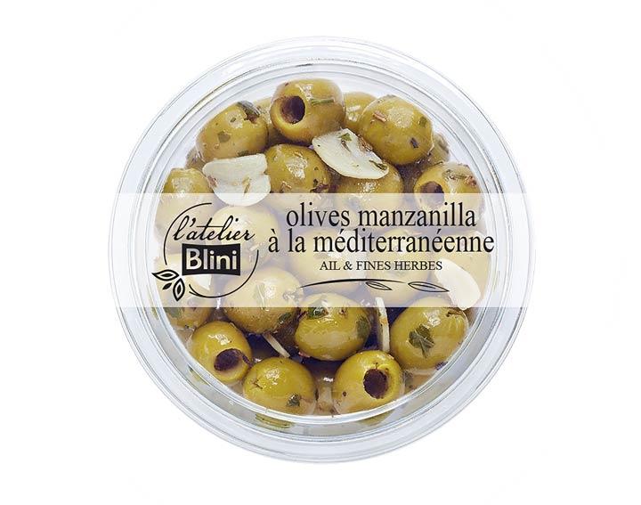 L'atelier Blini Olives à la méditerranéenne