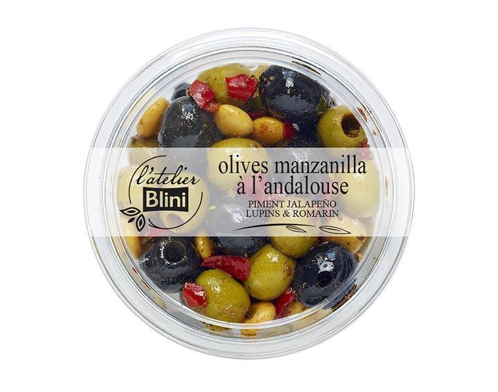 L'atelier Blini Olives à l'andalouse
