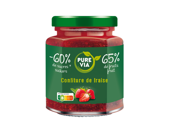 Confiture Pure Via Fraise 300g
