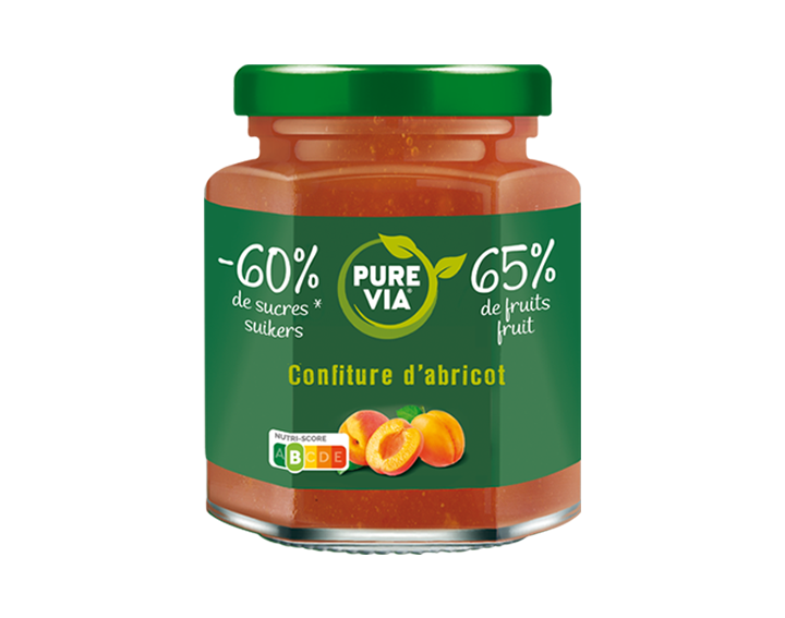 Confiture Pure Via Abricot 300g