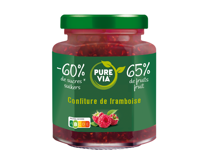Confiture Pure Via Framboise 300g