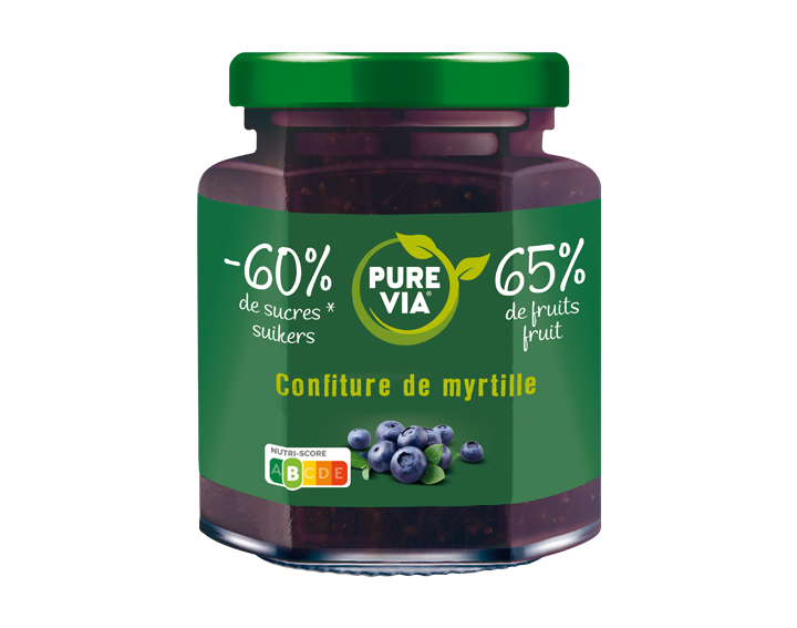 Confiture Pure Via Myrtille 300g