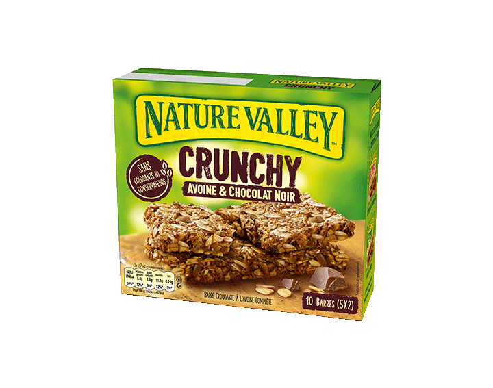 Crunchy Avoine & Chocolat Noir