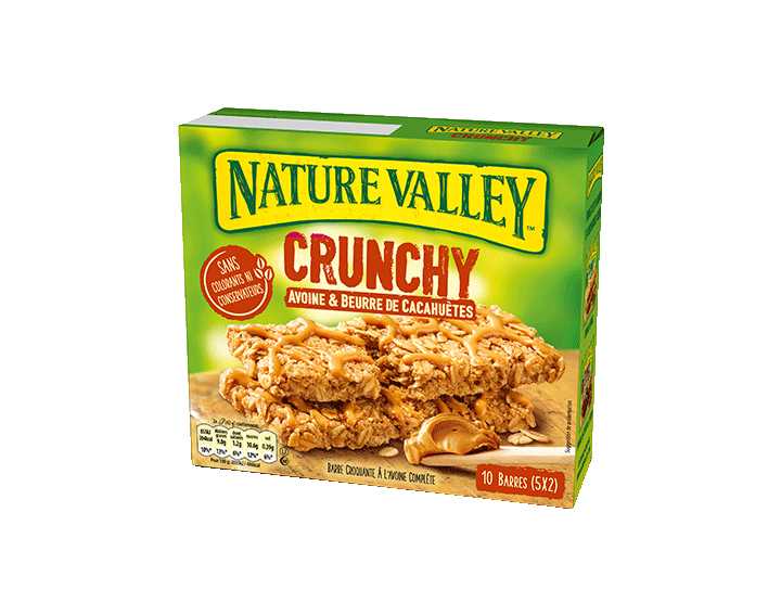 Crunchy Avoine & Beurre de Cacahuètes