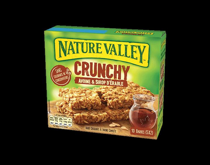 Crunchy Avoine & Sirop d'Erable