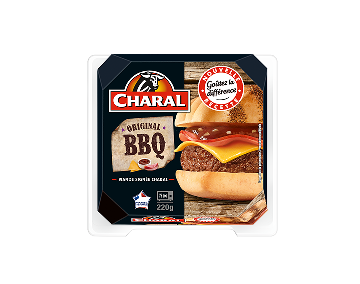Barbecue Burger Charal