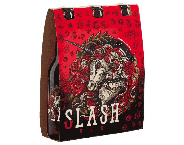 SLASH RED - 3x33cl - 8% alc./vol