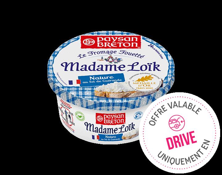 Madame Loïk Nature 180g