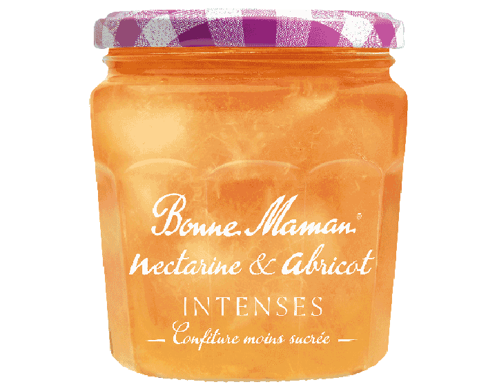 Confiture Nectarine & Abricot INTENSES 335g