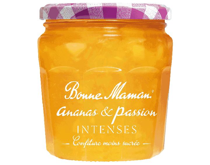 Confiture Ananas & Passion INTENSES 335g