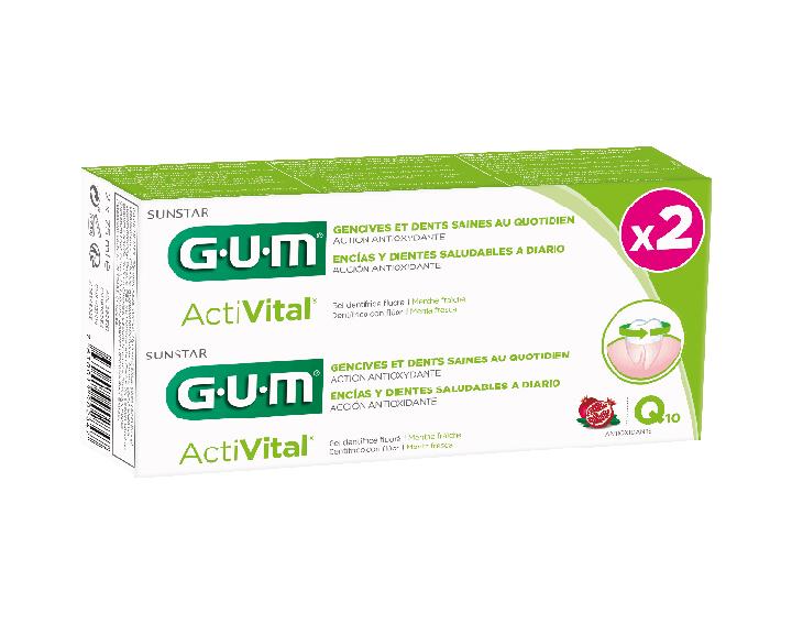 GUM® ActiVital duopack