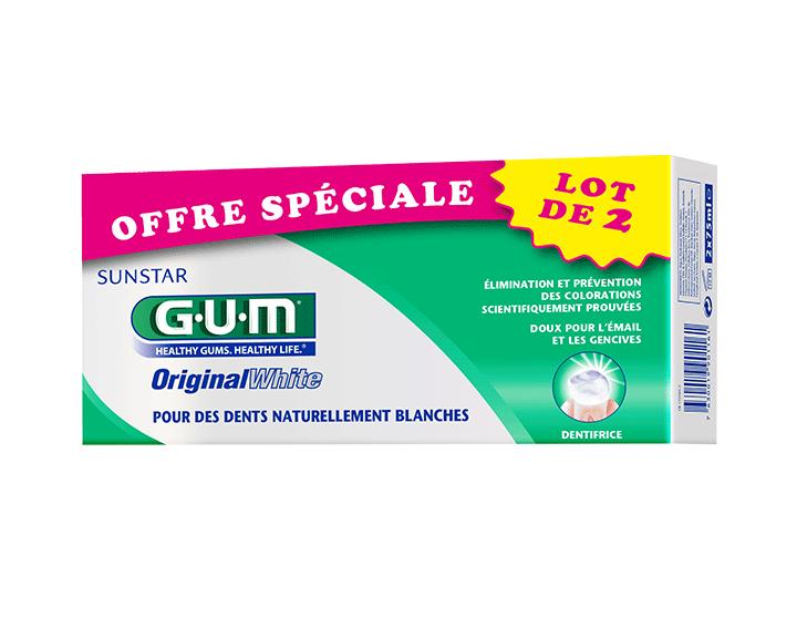GUM® OriginalWhite duopack