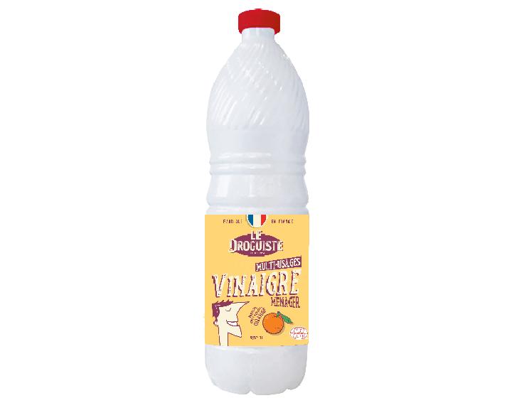 Vinaigre ménager parfum naturel d'orange