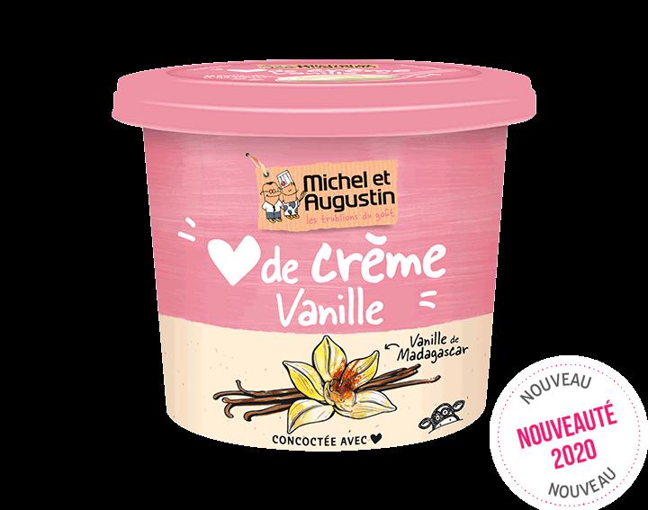 Cœur de Crème vanille de Madagascar