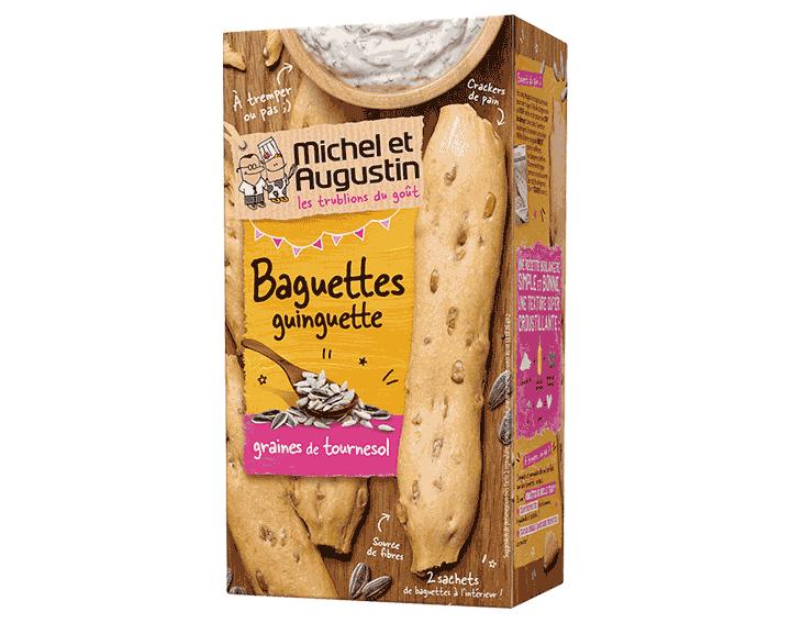 Baguettes guinguette graines de tournesol