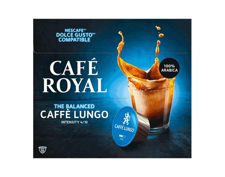 Caffè Lungo x16 dosettes