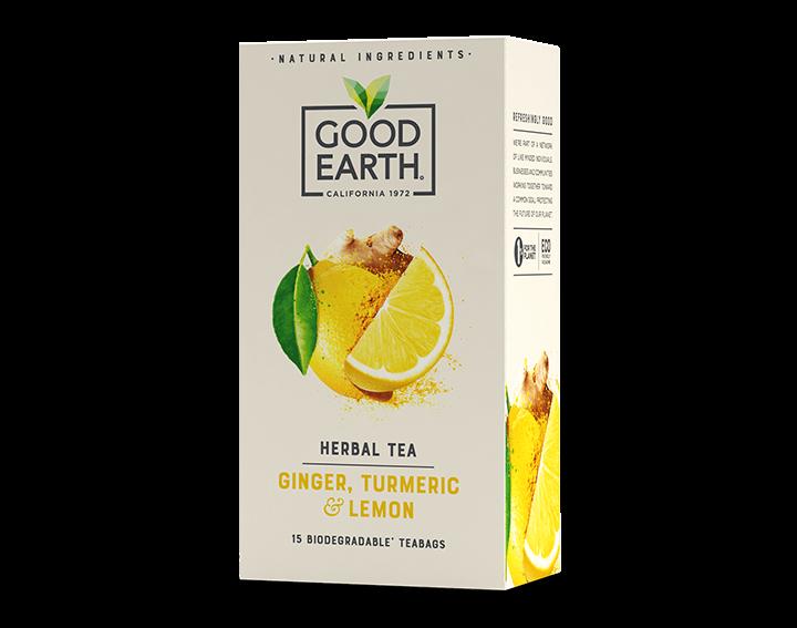 Ginger Turmeric & Lemon Herbal Tea 42g