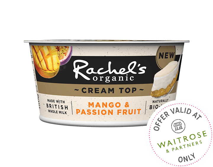 Cream Top Mango & Passion Fruit Yogurt 150g
